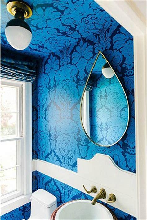 blue bathroom wallpaper wallpapers for bathroom