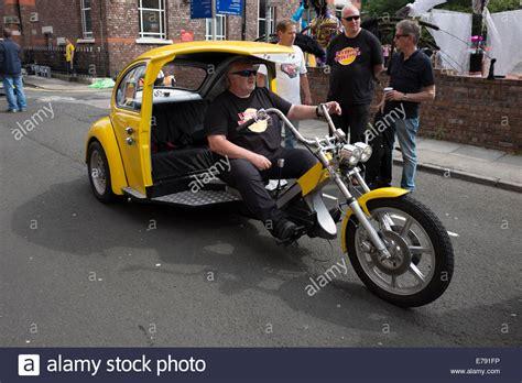 Dreirad Motorrad Mit Vw Motor by 3 Rad Trike Motorrad Buggy Vw K 228 Fer Auto Stockfoto Bild