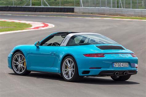 miami blue porsche targa 2016 porsche 911 targa 4s review drive motoring