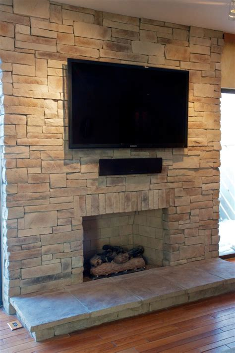 On Fireplace by Fireplaces With Tvs