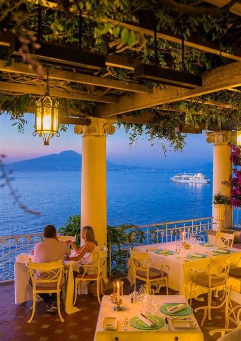 sorrento best restaurants quot la pergola quot at bellevue syrene is without any doubt the