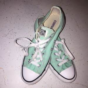 mint colored converse 55 converse shoes mint colored converse chucks from
