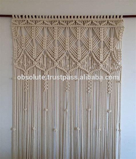 Hemp Curtain Panels From Doc by Macrame Curtains Room Divider Boho Curtain Buy Macrame