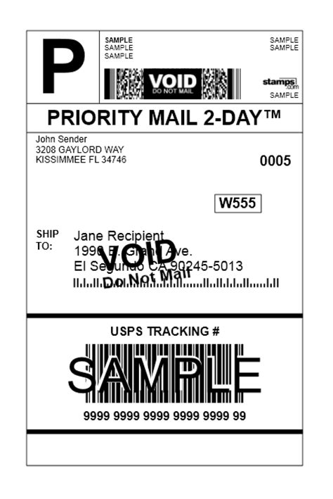 printable priority mail label in kcs mail sts com edition integrated systems