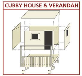building a cubby house plans cubbyplan 41 burke s backyard