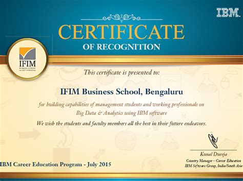 Best Certification Courses For Mba Students by Ifim B School
