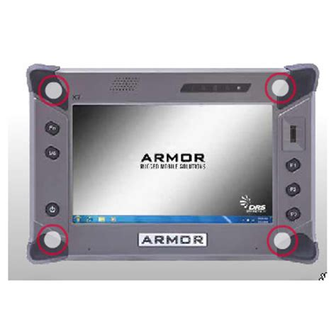 Tablet X7 rugged armor x7 tablet from drs introduced