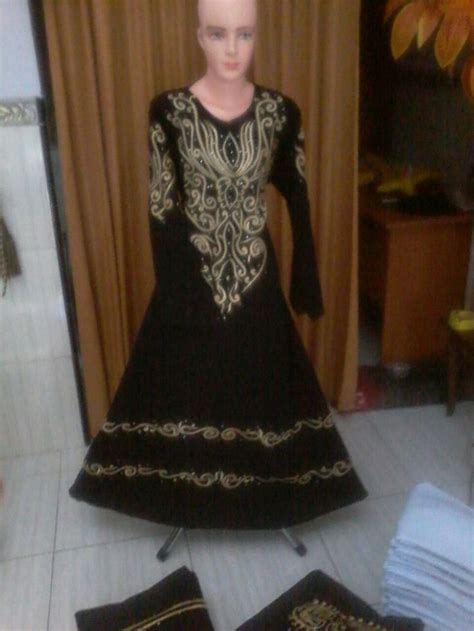 Gamis Hitam 003 16 best baju abaya 0852 5834 3204 tsel images on dress muslimah muslim dress