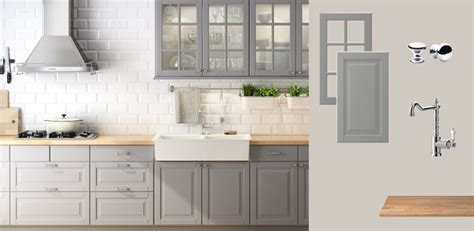 grey kitchen cabinets ikea grey kitchen cabinets from ikea quicua com