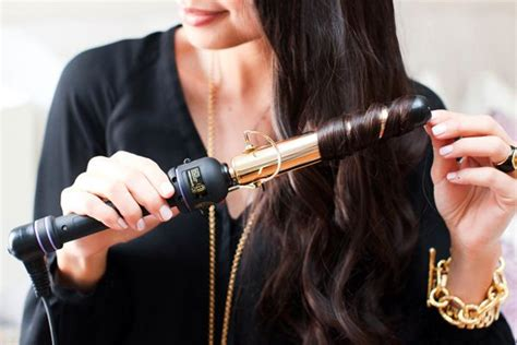 curling irons for lose curls how to create loose curls with a 1 quot hot tools curling iron