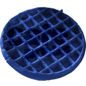 blue colored waffles the blue waffle