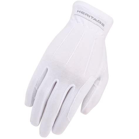 white glove pattern heritage gloves power grip glove white