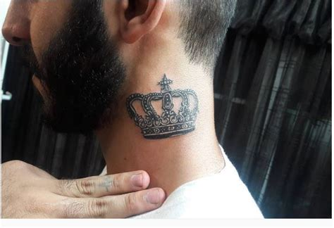 tattoo king neck 50 royal king tattoos designs and ideas for men 2018
