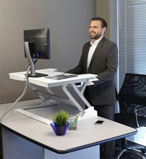 sit stand desk top workstation the best 28 images of sit stand desk top workstation