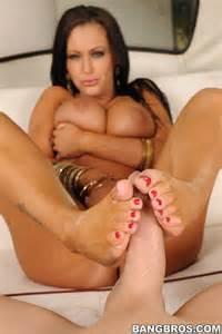 jenna presley works a cock with her skilled feet   pichunter