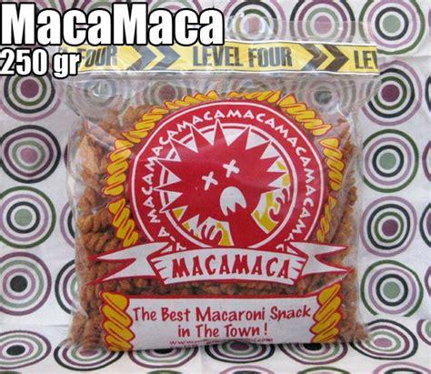 Macamaca Makaroni maca maca 250 gr macamaca snack makaroni goreng teman