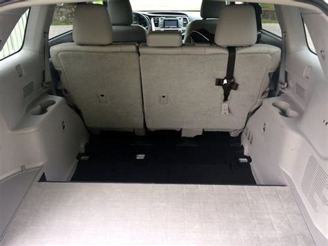 toyota seats removed 2014 highlander 3rd row seats removed toyota nation