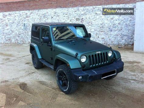 imagenes de jeep verdes fotos de coches jeep con vinilo