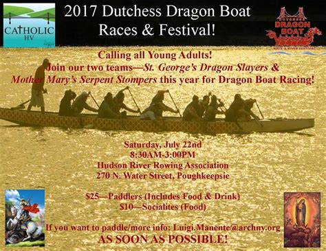 dragon boat festival 2017 nyc 2017 dragon boat races catholic nyc