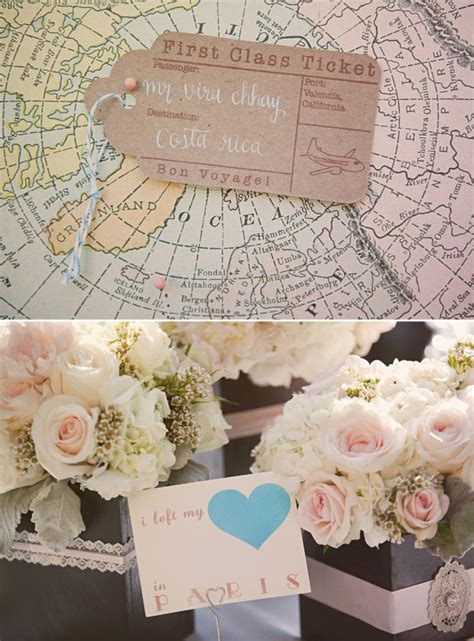 swoon worthy california wedding with a vintage travel theme