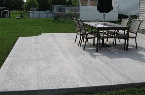 1000 ideas about sted concrete patio cost on