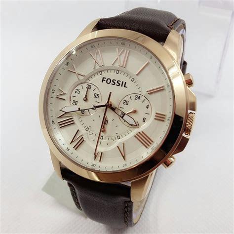jual jam tangan pria fossil es  original  lapak