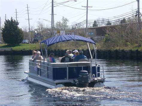 pontoon boats in rough water boat show gallery
