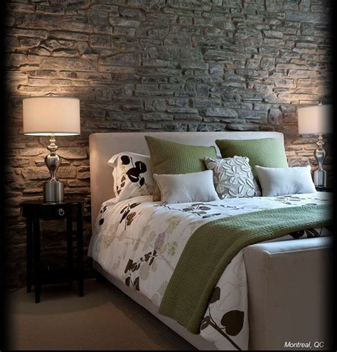 stone wall in bedroom best 25 bedroom feature walls ideas on pinterest