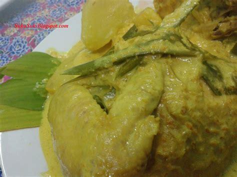 Minyak Ikan Buat Ayam suka suki ikan bawal 3 rasa ayam masak lemak cili