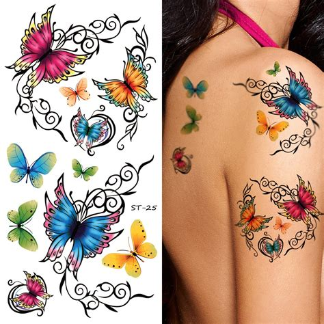 amazon tattoos spestyle waterproof non toxic temporary