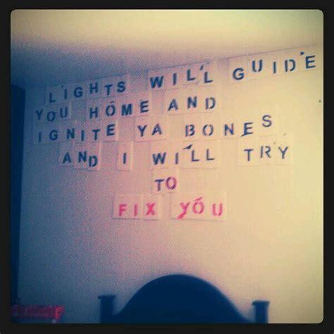 coldplay fix you lirik fix you by coldplay lyrics pinterest