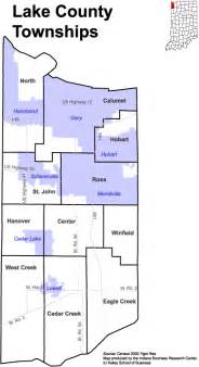lake county township map