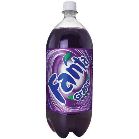 Soda L by Fanta Grape Soda 2 L Walmart