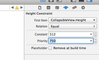 autolayout remove height constraint ios how to resize subviews height according to the
