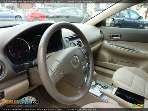 beige interior 2004 mazda mazda6 s sport wagon photo 16