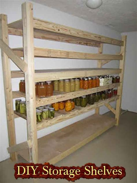 food storage shelves how to build your own canned food storage rack 2017 2018 cars reviews