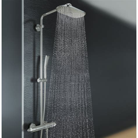 doccia grohe grohe rainshower showerset met douchethermostaat met