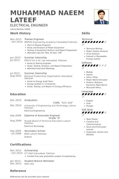 resume format for master of engineering students sle thesis electrical engineering