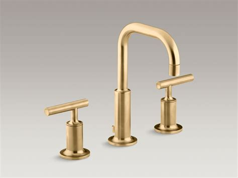 brushed nickel and gold bathroom fixtures standard plumbing supply product kohler k 14406 4 cp