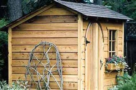 garden storage shed plans choose your own custom design
