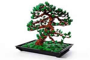 tree lego lego bonsai tree by makoto azuma spoon tamago