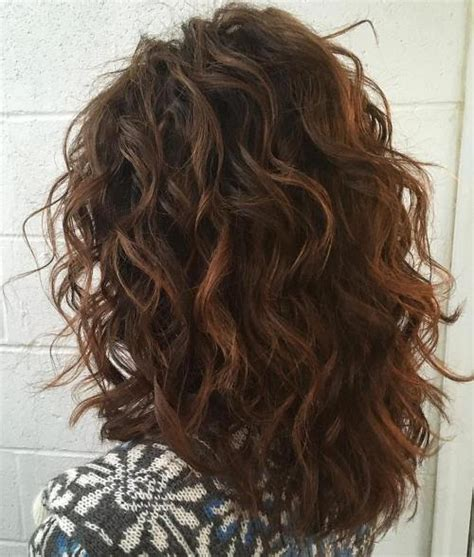 shoulder length layered natural curly haircuts with front and back pictures 50 most magnetizing hairstyles for thick wavy hair