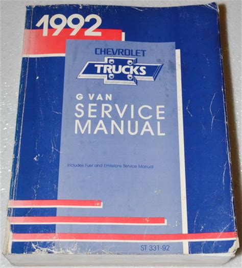 car repair manuals download 1992 chevrolet sportvan g10 windshield wipe control 1992 chevrolet sportvan g30 vvti engines repair manual 1972 chevy van g10 g20 g30 sportvan