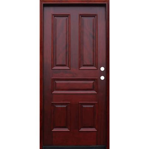 Home Depot Design A Door Pacific Entries 36 In X 80 In Traditional 5 Panel