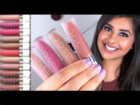 Loreal Lipstick Tint Caresse Liptint Lipgloss Ombre Lip Ori colourpop ultra satin review lip swatches doovi