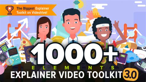 Explainer Video Toolkit 3 By Taerar Videohive Animated Explainer Templates
