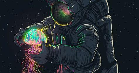 glowing spaceman wallpaper engine  wallpaper