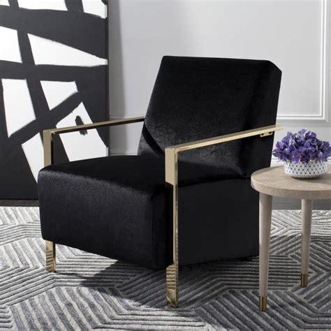 safavieh orna casual black accent chair  lowescom