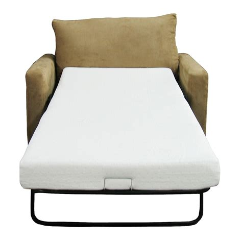 Sofa Bed With Foam Mattress Classic Brands Memory Foam Sofa Mattress Replacement Sofa