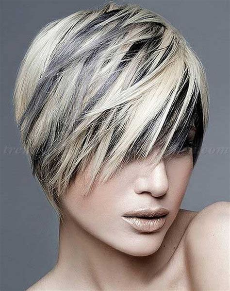 color highlights for very short grey hair best short punk haircuts short hairstyles 2017 2018